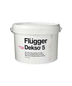 Flügger Dekso 5 masívna matná akrylátová farba na steny