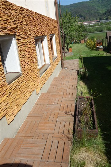 drevené terasove dlaždice
