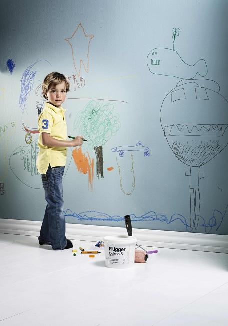zmývateľné farby na stenu