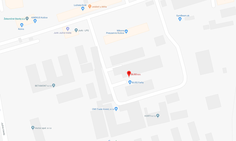 PREDAJŇA: Južná trieda 66, 040 01 Košice